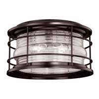Hyannis Bronze Outdoor Ceiling Light