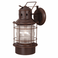 Hyannis Bronze Outdoor Wall Sconce - 10 Inch