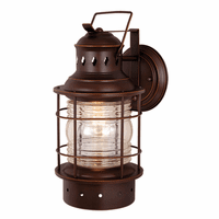 Hyannis Bronze Outdoor Wall Sconce - 8 Inch