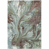Impressions Seafoam Rug Collection
