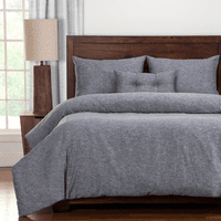 Indigo Cloud 5 Piece Duvet Set - Twin