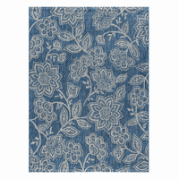 Indigo Garden Indoor/Outdoor Rug Collection