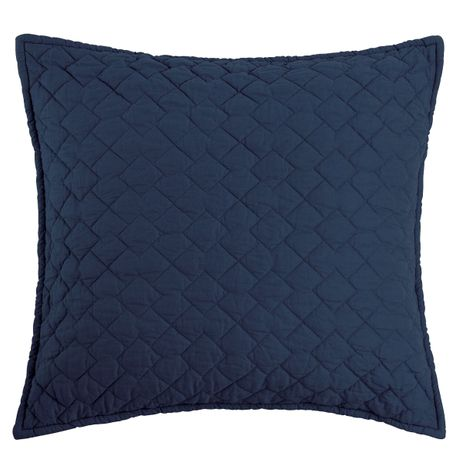 Indigo Quilted Pillow