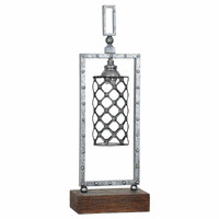 Industrial Lattice Table Lamp