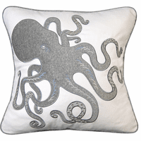 Inkling Octopus Pillow - Gray