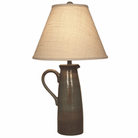 Inlet Handled Pitcher Table Lamp