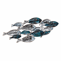 Island Fish Metal Wall Art