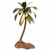 Island Palm Tabletop Sculpture
