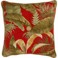 Island Paradise Square Pillow