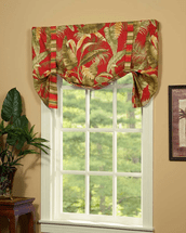 Island Paradise Tie Up Curtain