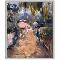 Island Path Canvas Art