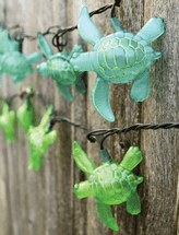 Island Turtle Outdoor String Lights