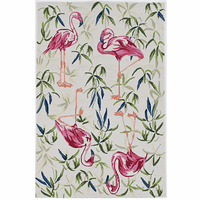 Ivory Flamingo Rug Collection