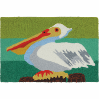 Jaunty Pelican Indoor/Outdoor Rug