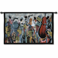 Jazz Reflections I Wall Hanging - OVERSTOCK