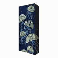 Jellyfish Aluminum Box Wall Art