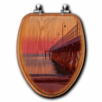 Jetty Sunset Toilet Seats