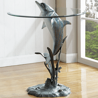 Jumping Dolphin End Table