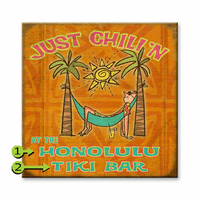Just Chill'n Personalized Sign - 28 x 28
