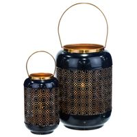 Kaputas Beach Pillar Lanterns - Set of 2