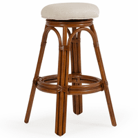 Keely Backless Swivel Bar Stool