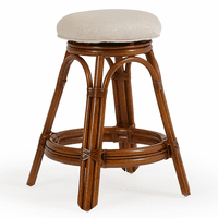 Keely Backless Swivel Counter Stool