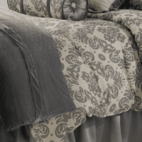 Kerrington Velvet Duvet - Super King- OVERSTOCK