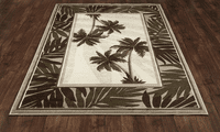Key Largo Palms Rug Collection