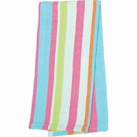 Key Largo Stripe Kitchen Towels - Set of 6