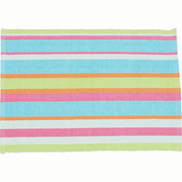 Key Largo Stripe Table Linens