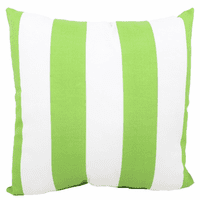 Key Lime Stripes Indoor/Outdoor Pillow