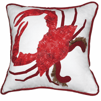 King of the Chesapeake Pillow - Red