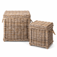 Kingston Rattan Trunks - Set of 2