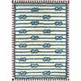 Knotted Lines Indoor/Outdoor Rug - 5 x 7