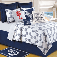 Knotty Buoy Quilt Bedding Collection