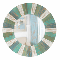 Laguna Blue Wall Mirror