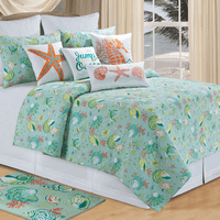 Laguna Breeze Quilt Bedding Collection
