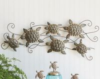 Laguna Sea Turtle Metal Wall Art