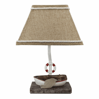 Lake Boating Accent Lamp