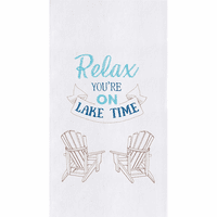 Lake Time Flour Sack Towels - Set of 6