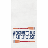 Lakehouse Waffle Weave Kitchen Towels - Set of 6