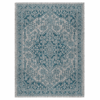 Lanai Aqua Indoor/Outdoor Rug Collection