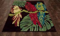 Lanai Parrots Rug Collection