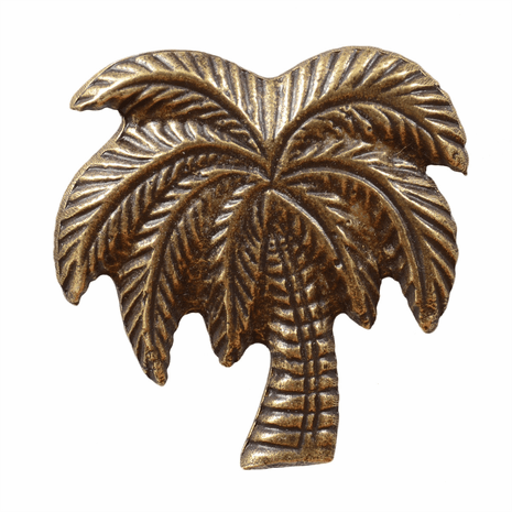 Large Palm Tree Cabinet Pull