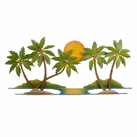 Large Palms Wall Art