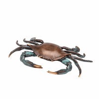 Large Scuttling Crab Sculpture
