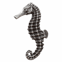 Large Seahorse Cabinet Pull - Left Facing