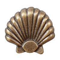 Large Seashell Cabinet Knob