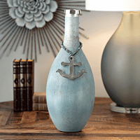 Large Wiscasset Anchor Vase