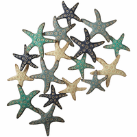 Layered Starfish Wall Décor